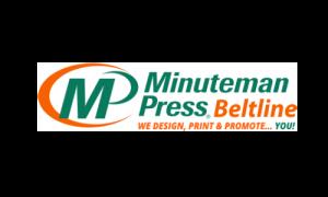Minuteman Press Beltline logo